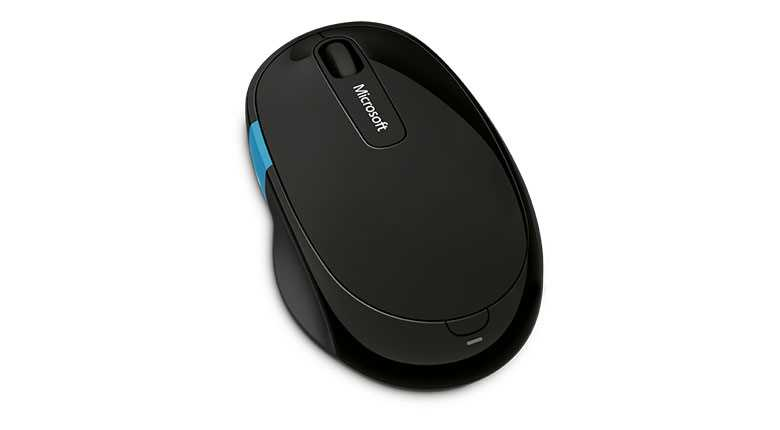 картинка Компьютерная мышь   Microsoft Sculpt Comfort Mouse Win7/8 Bluetooth EN/AR/CS/NL/FR/EL/IT/PT/RU/ES/UK EFR Black от магазина itmag.kz
