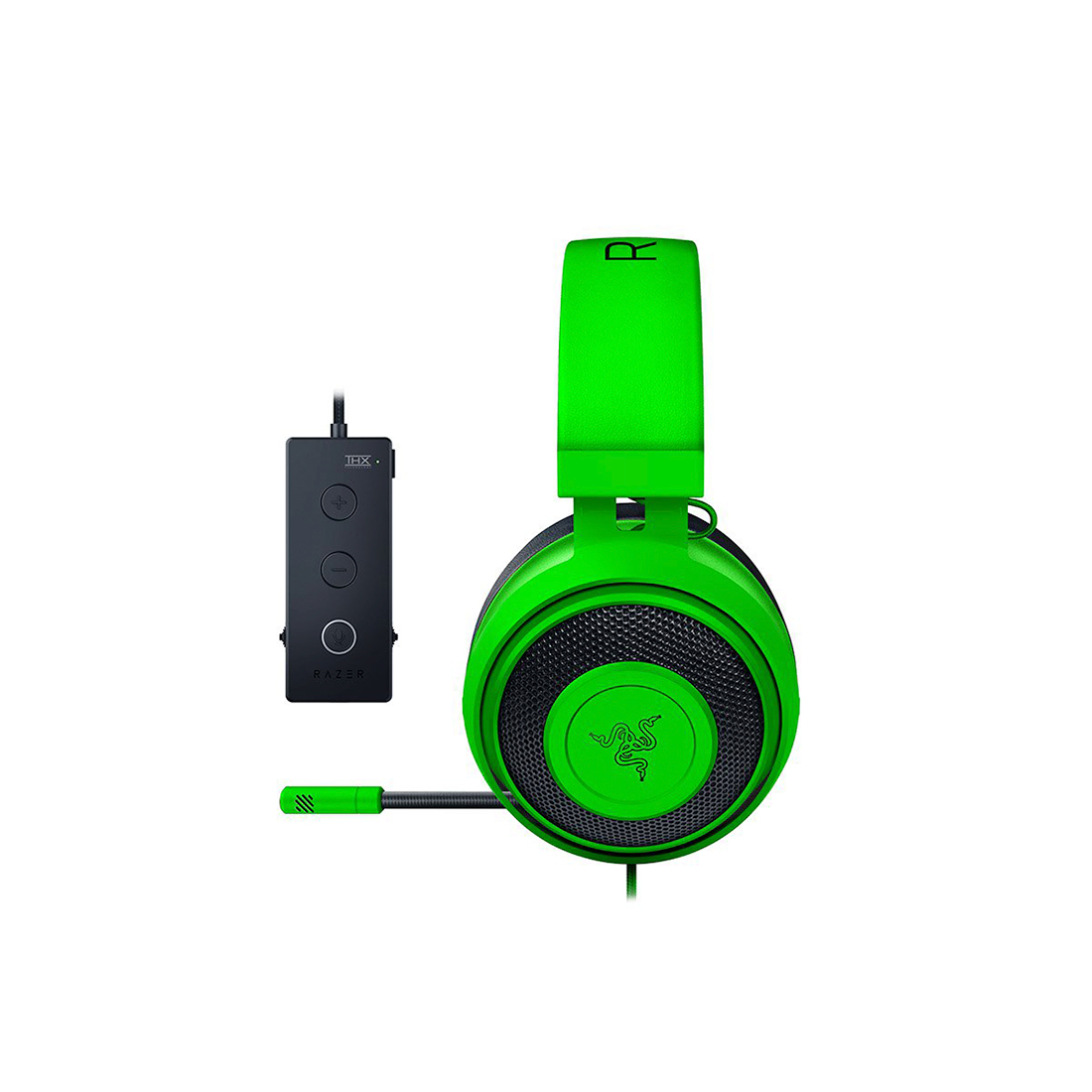 картинка Наушники Razer Kraken Tournament Edition (USB) Green от магазина itmag.kz