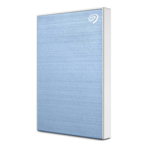 картинка Внешний жесткий диск 1Tb Seagate Backup Plus Slim Portable STHN1000402 Light blue, USB 3.0 от магазина itmag.kz