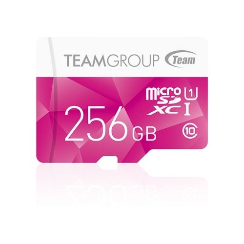 картинка Карта памяти Team Group Color Card MicroSDXC 256GB UHS-I TCUSDX256GUHS02, Read: 80MB/s; Write: 20MB/s, No Adapter от магазина itmag.kz