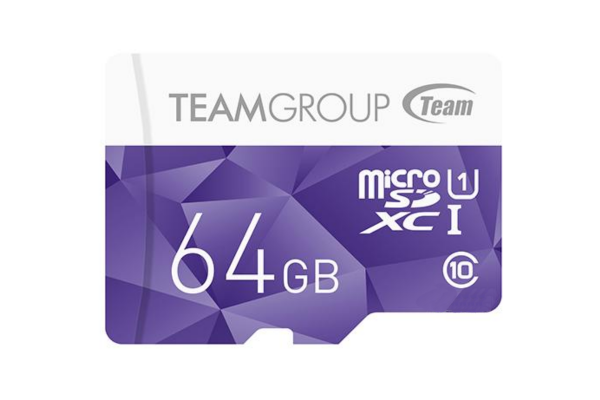 картинка Карта памяти Team Group Color Card MicroSDXC 64GB UHS-I TCUSDX64GUHS02, Read: 80MB/s; Write: 15MB/s, No Adapter от магазина itmag.kz