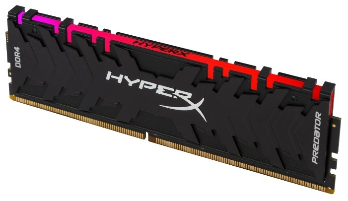 картинка Оперативная память Kingston HyperX Predator RGB 8GB 3200MHz DDR4 CL16 DIMM XMP HX432C16PB3A/8 от магазина itmag.kz