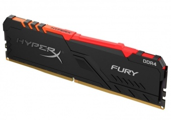 картинка Оперативная память Kingston HyperX Fury RGB 8GB 2400MHz DDR4 CL15 DIMM XMP HX424C15FB3A/8 от магазина itmag.kz