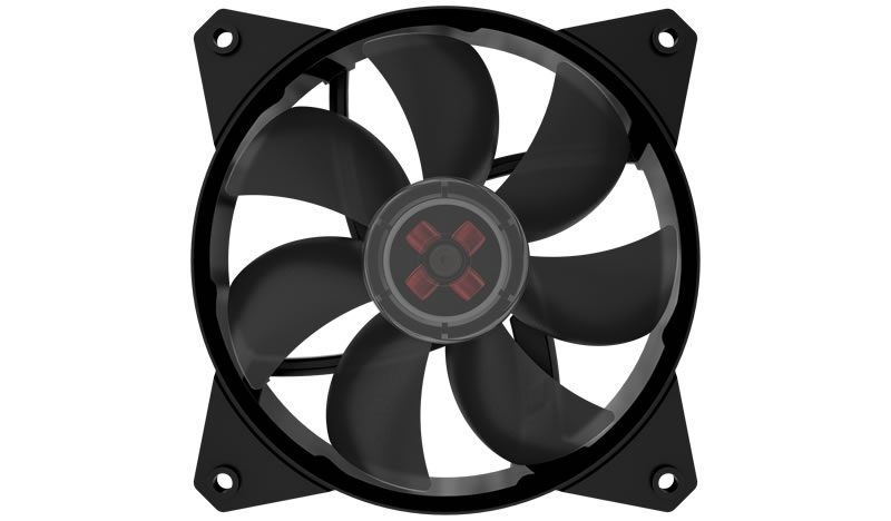 картинка Вентилятор для корпуса CoolerMaster MasterFan MF120L NON LED 120x120x25 1200RPM 32CFM 3-pin R4-C1DS-12FK-R1 от магазина itmag.kz