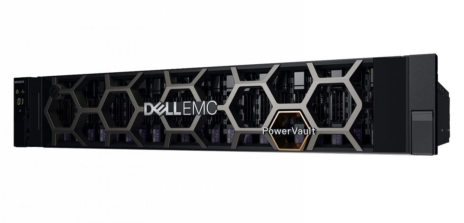 картинка Хранилище Dell ME4024, 2x1.2Tb HDD, 10Gb SFP+ 8 Port Dual Controller (210-AQIF-10GS) от магазина itmag.kz